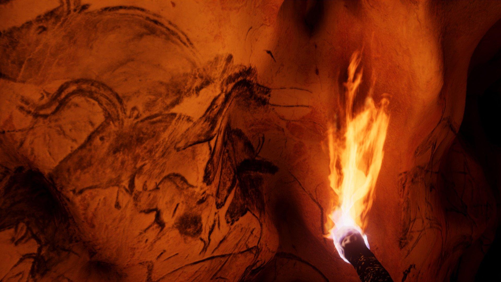 VR grotta Chauvet antica galleria d'Arte