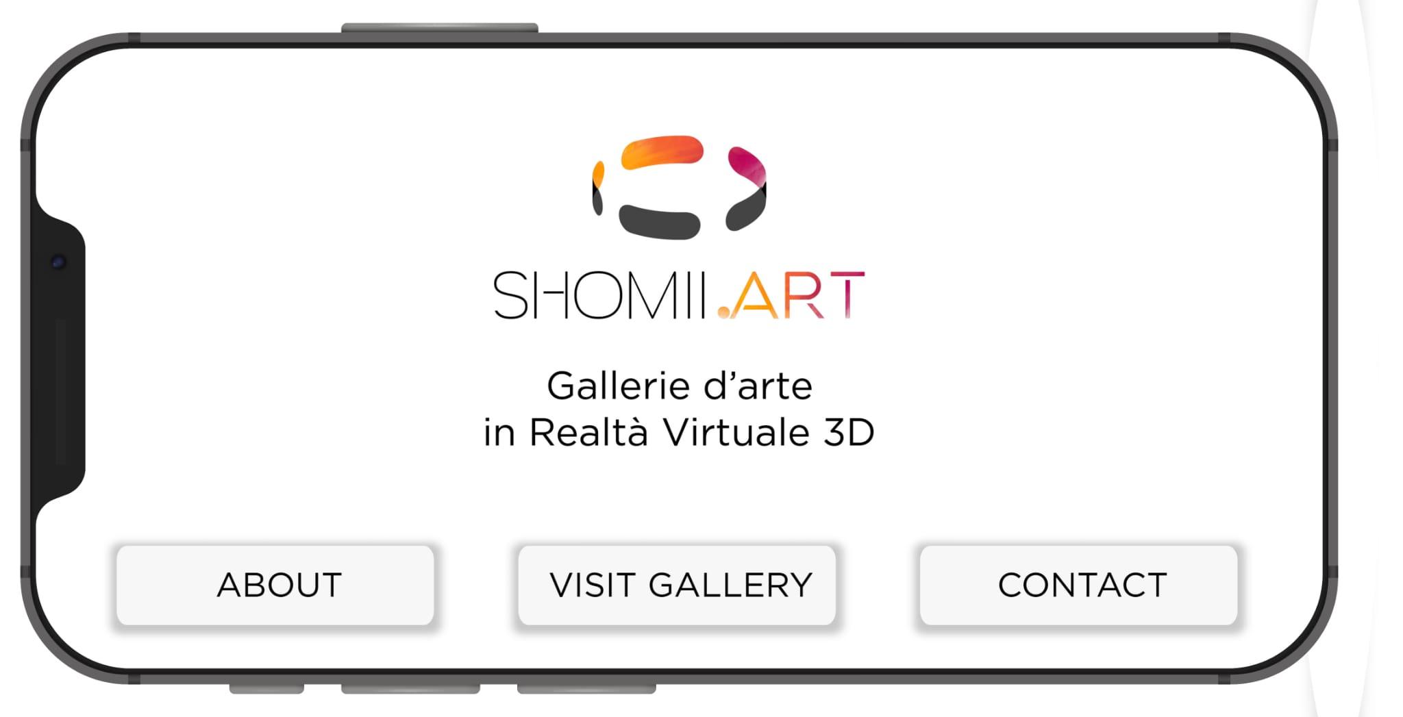 APP shomii ART Gallery 3d